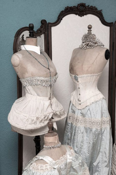 victorian antique corsets