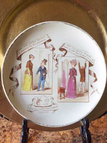 French Vintage Dishes