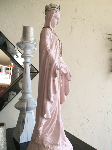 French Vintage Mary Statue