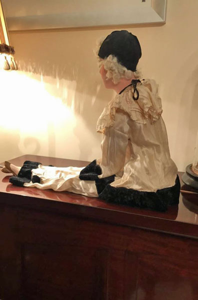 Antique French Pierrot Doll