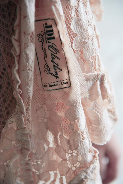 Romantic Pink Lace Scarf