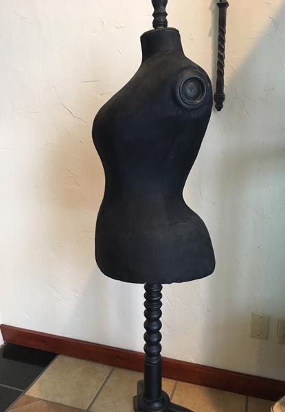 antique victorian mannequin