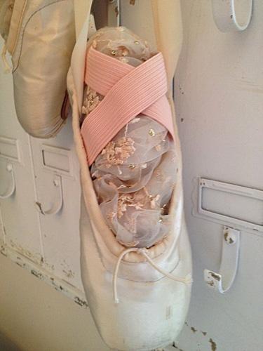 Vintage Ballet Pointe Shoes