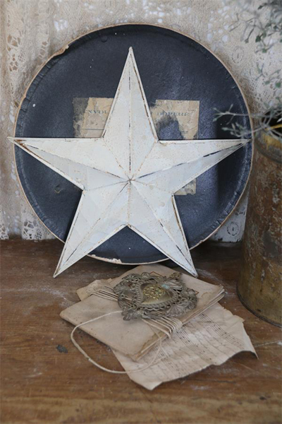 Rustic Country Wall Decor Barn Star