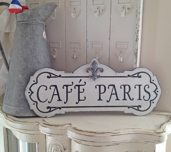 Vintage Wooden Signs Home Decor: French Sign Vintage Wood Decor