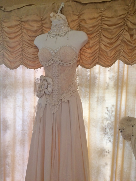 Vintage Dress Form Boudoir Display Wedding Gown