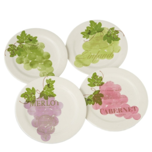 Wine Grape Snack Plates
