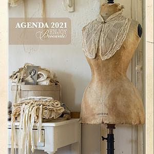 Brocante Blog Magazine Calendar 2021