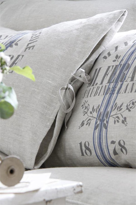 French Flax Linen Pillow Slip