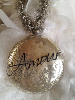 Amour Mercury Ornament