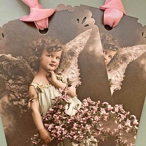 Angel Bebe Gift Cards And Tags Set