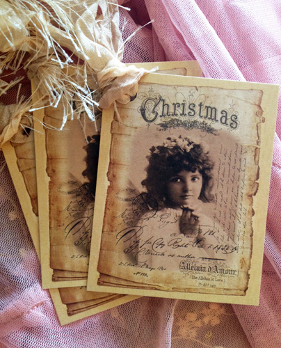 Vintage Angel Gift Tags