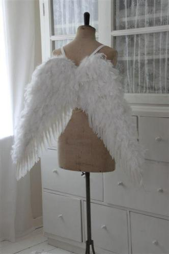 RARE Opportunity! Jeanne d' Arc Feather Angel Wings