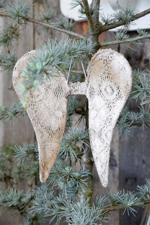 Large Lace Angel Wings PRE-ORDER
