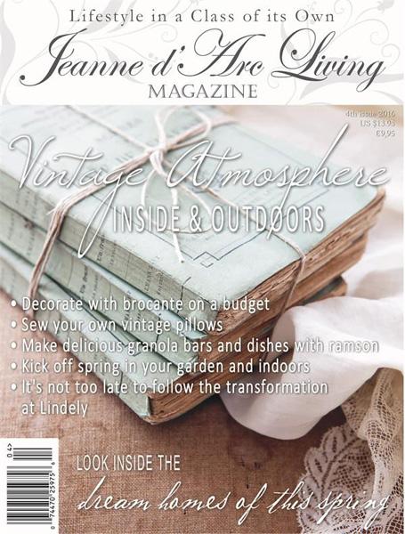 Jeanne d' Arc Living Magazine April 2016