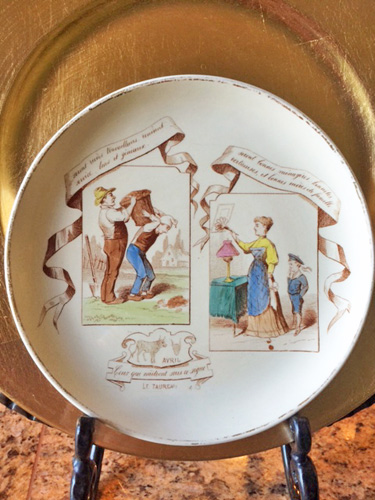 April French Plate
