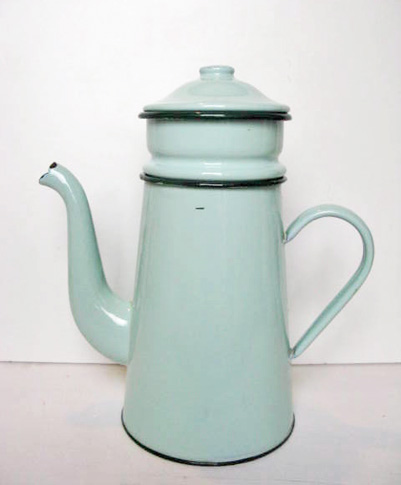 French Vintage Biggin Coffee Pot