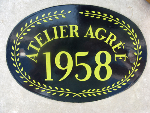 French Vintage Atelier Sign