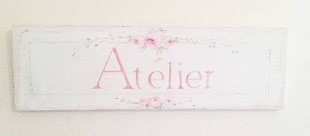 French Cottage Sign Atelier
