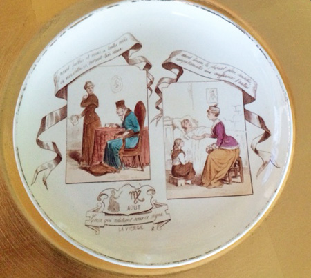 August French Plate