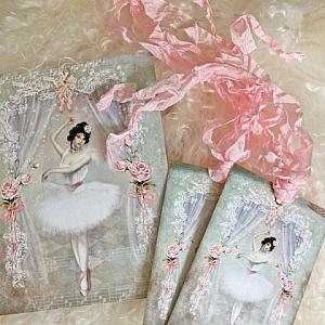 Ballerina Gift Card And Tags