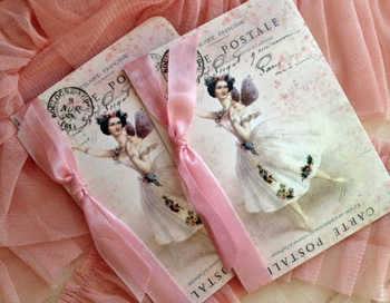 French Ballerina Gift Cards