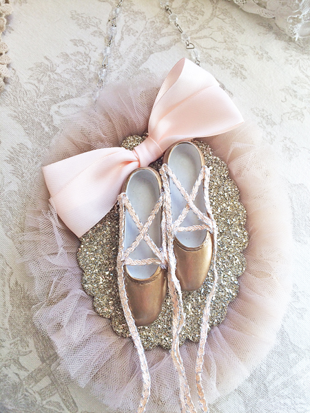Ballet Shoes Ornament