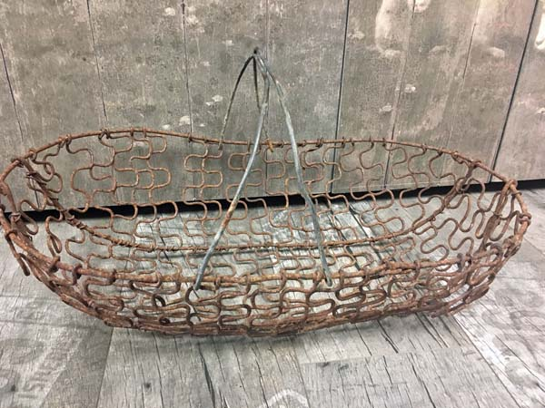 French Vintage Childs Basket RARE