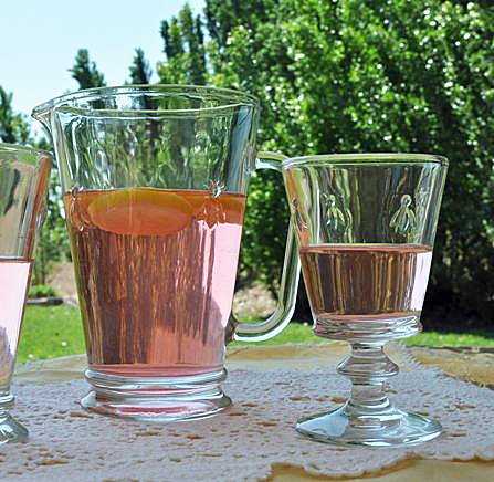 French Bee Wine Glasses
