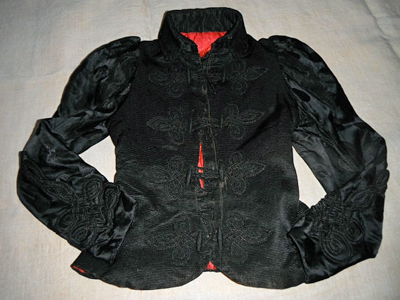 Victorian French Silk Jacket