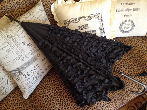 Parisian Ruffle Umbrella