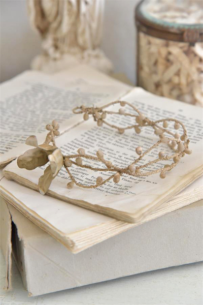 French Nordic Vintage Crown