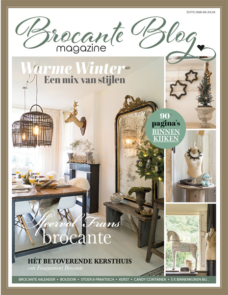 Brocante Blog Magazine Christmas Issue 2018 PRE-ORDER