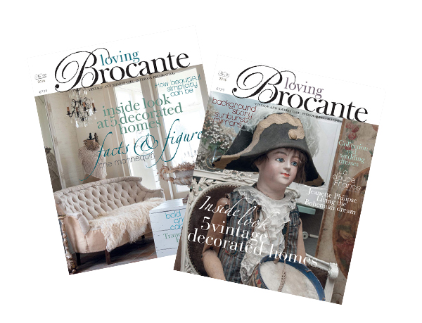 Loving Brocante Subscription 2018