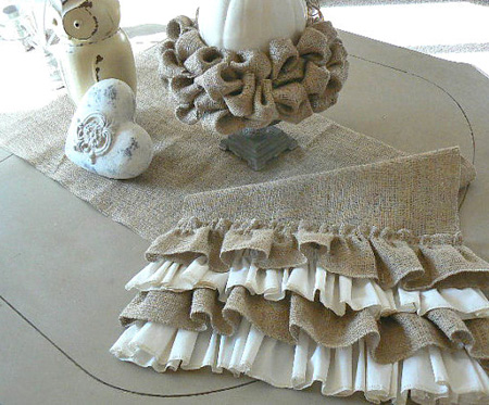 Country Cottage Table Runner