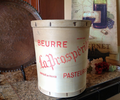 French Farmhouse Butter Bin