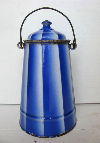 Vintage French Milk Pail