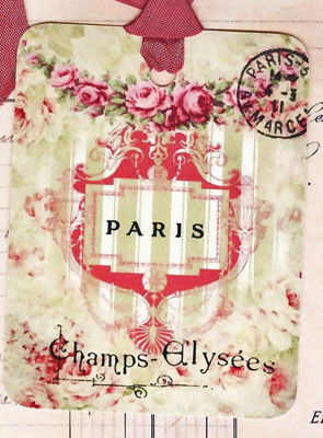Champs Elysees Gift Tags
