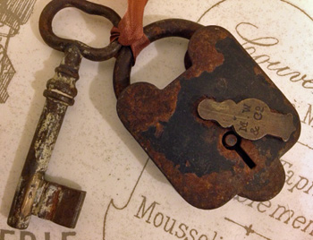 Antique Lock & Key
