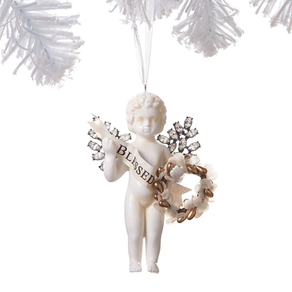 Cherub Ornament I