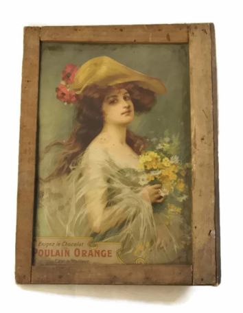 Antique French Chocolate Ad