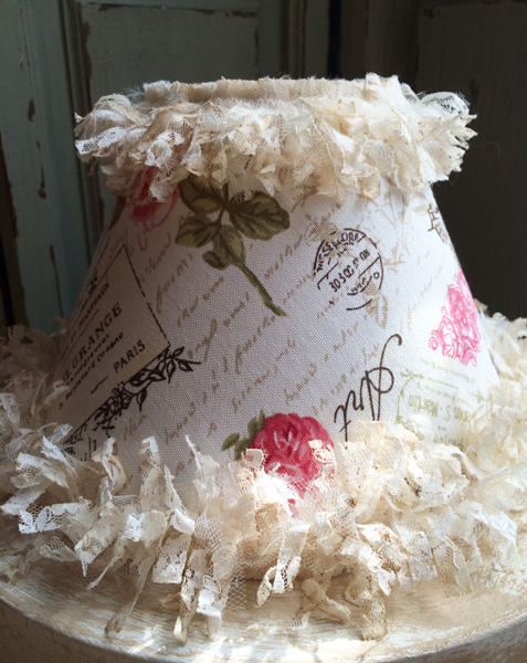 French Cottage Lampshade