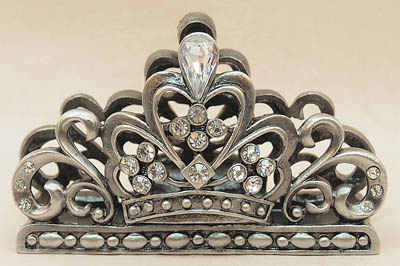 Vintage Crown Business Card Holder