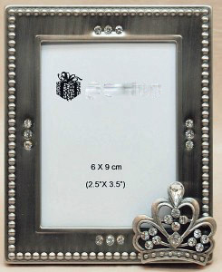 Crown Frame With Crystals