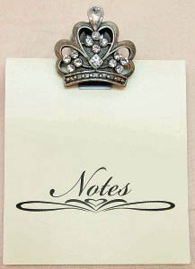 Crown Note Pad