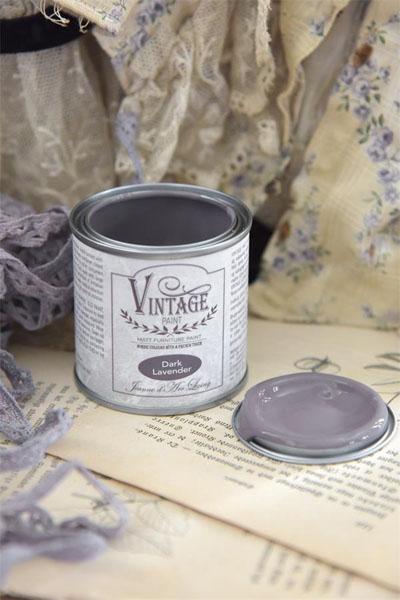 Vintage Paint Dark Lavender