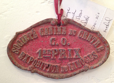 Antique French Medal First Prize