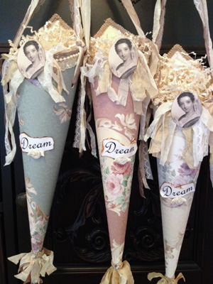 Dream Paper Cones