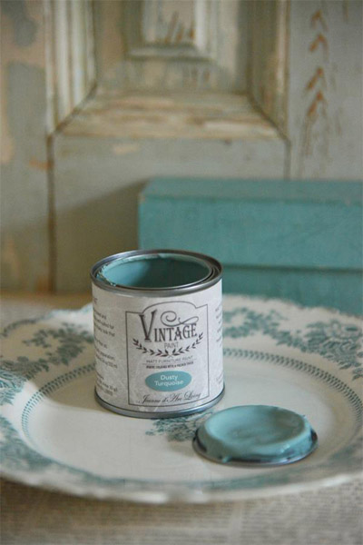 Vintage Paint Dusty Turquoise