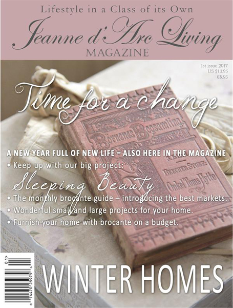 BACK ISSUE Jeanne d' Arc Living Magazine JANUARY 2017